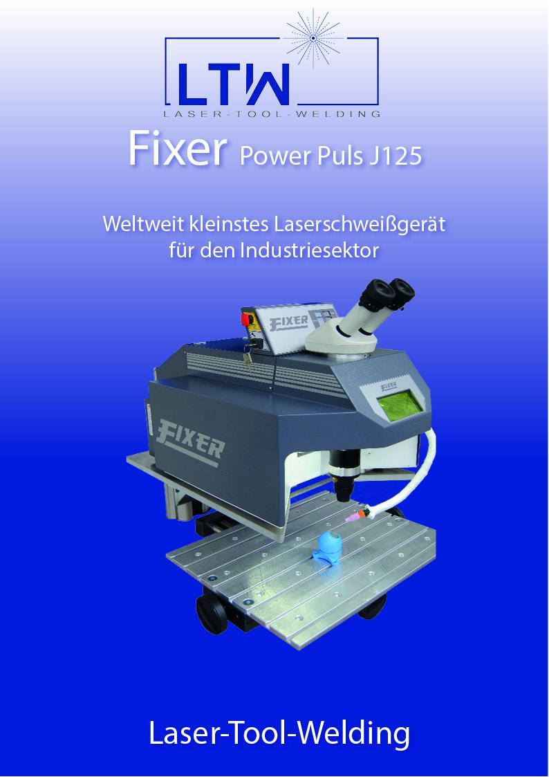 Laserschweißgerät Fixer Power Puls J125